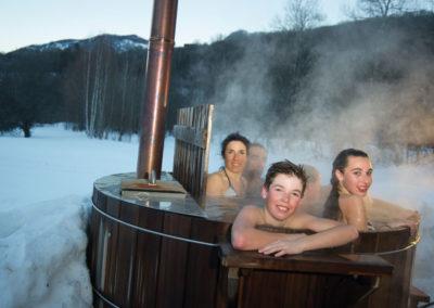 Le plaisir du Størvatt après une bonne journée nordique